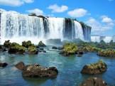 Wasserfälle von Iguazú- Brasilien