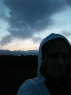 """Am nächsten Morgen, nach meiner """"Strandnacht"""""""