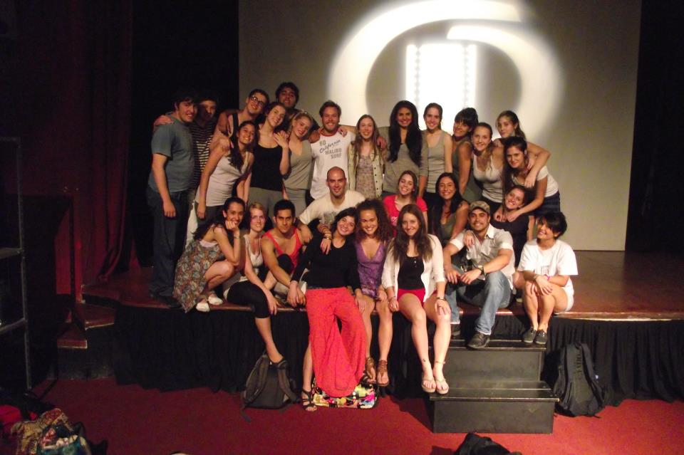 Meine Gruppe von der Schauspielschule