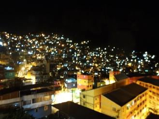 Rocinha by night