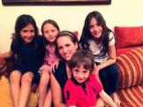 mit meinen süßen kleinen Cousinchen und Cousin