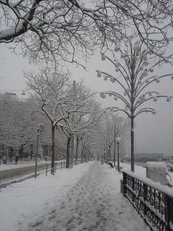 nach einer langen Zeit des Sommer, hatte Ich endlich wieder einen echten Winter =)