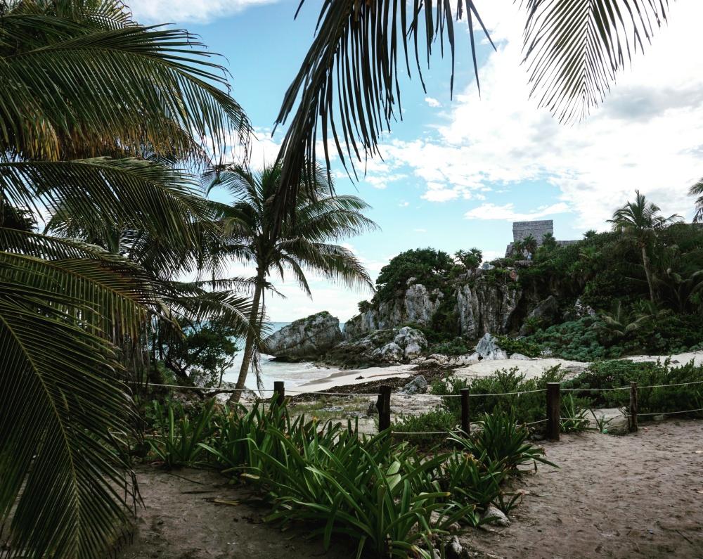 Maya Ruinen von Tulúm